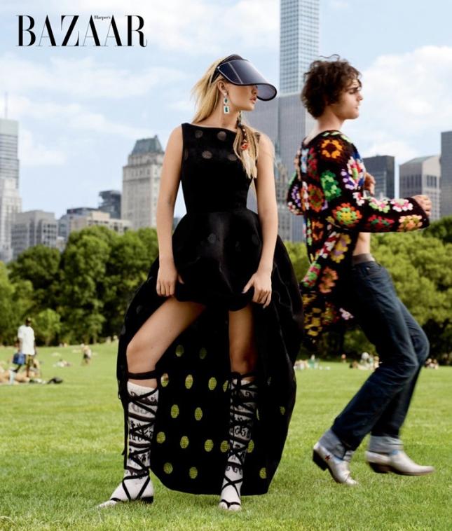Джиджи Хадид в Harper's Bazaar US