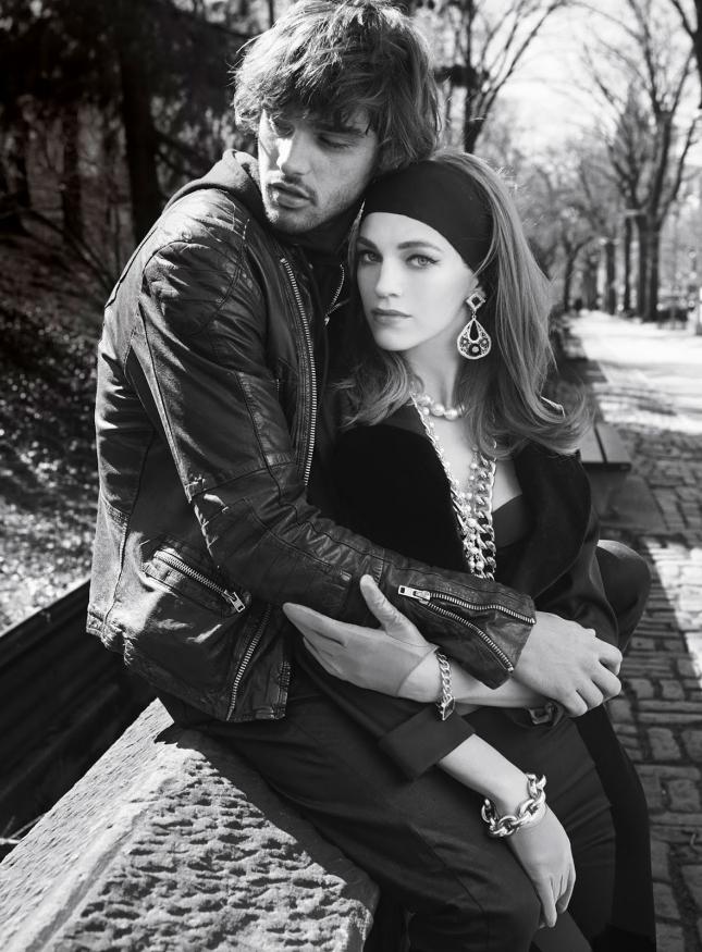 Саманта Градовиль и Марлон Тейсейра в фотосессии для Vogue Испания