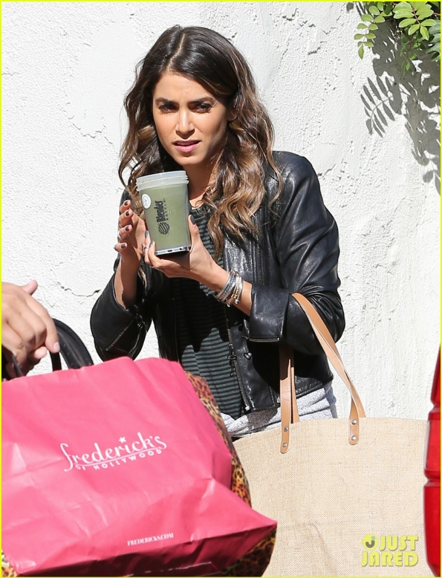 Semi-Exclusive... Nikki Reed Heads To A Wild Life Forest