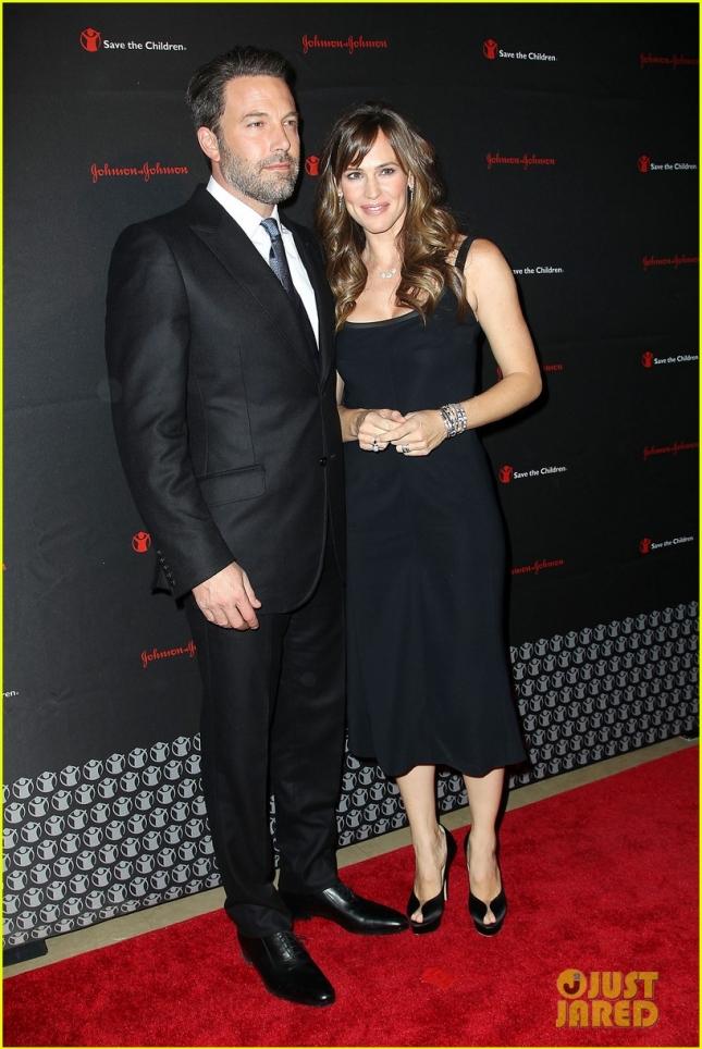 Бен Аффлек и Дженнифер Гарнер на благотворительном вечере Save the Children Illumination Gala