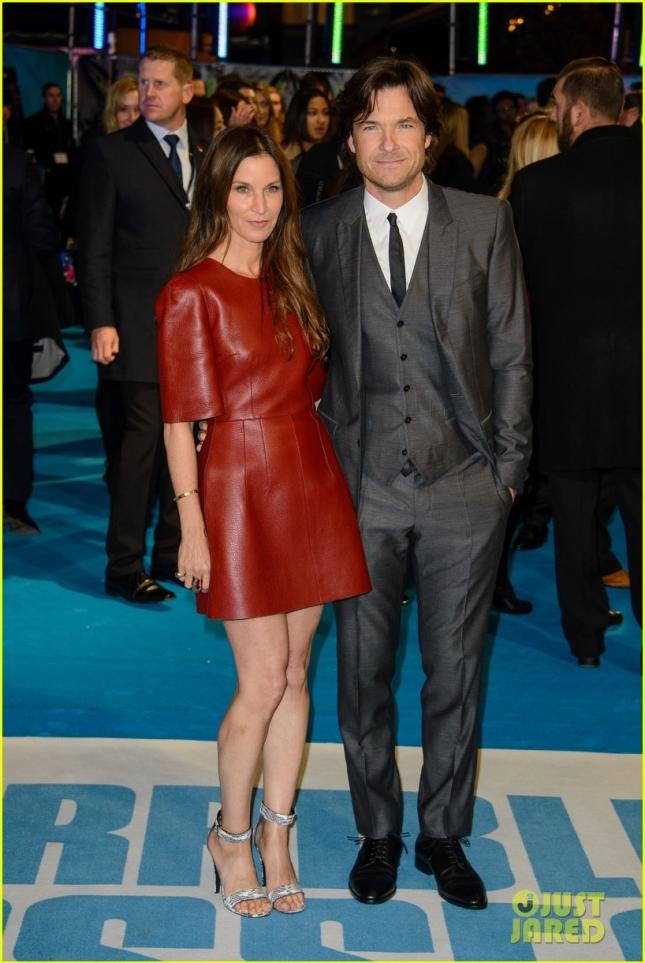 Джейсон Бейтман (почти что Бэтмен) с супругой Амандой