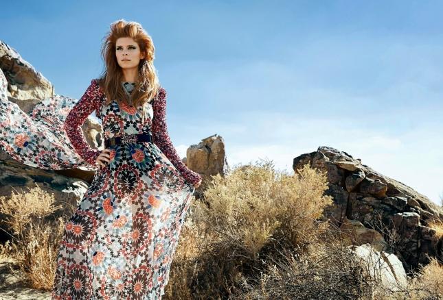 Кейт Мара  в журнале Harper's Bazaar Arabia