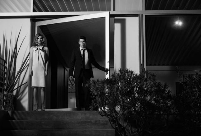 Кейт Мара и Джеймс Марсден  в фотосессии для Yahoo! Style