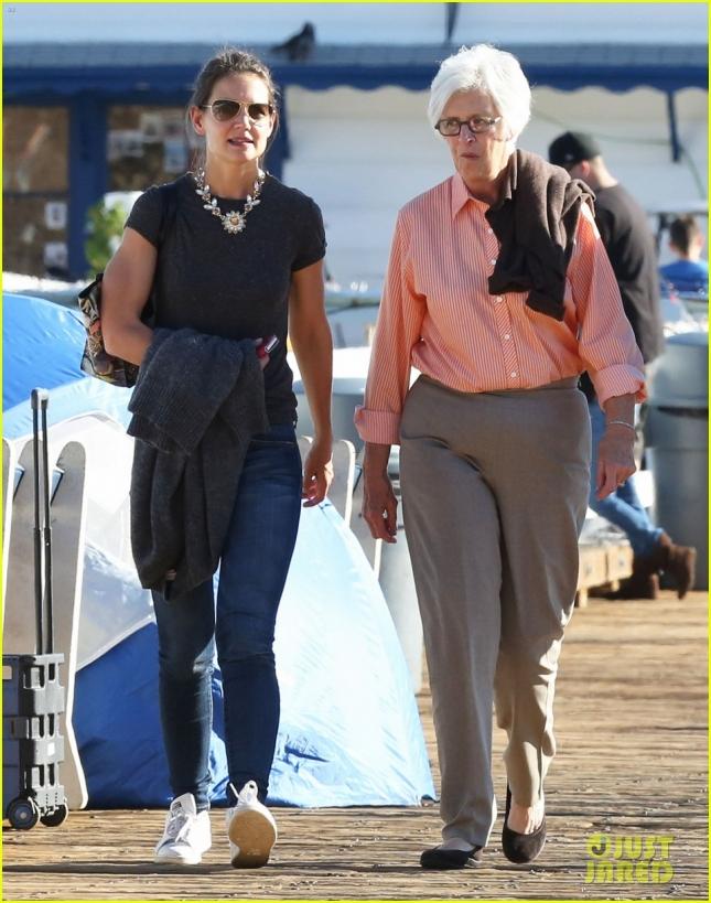 Кэти с мамой Кэтлин