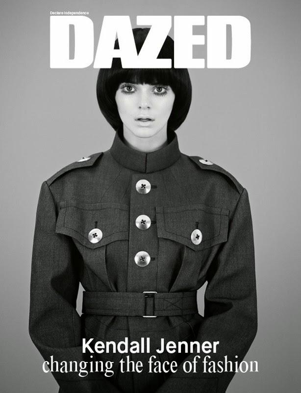 Кендалл Дженнер на обложке Dazed