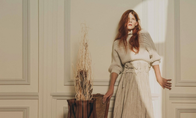 Ирина Кравченко в фотосессии для Harper's Bazaar Испания
