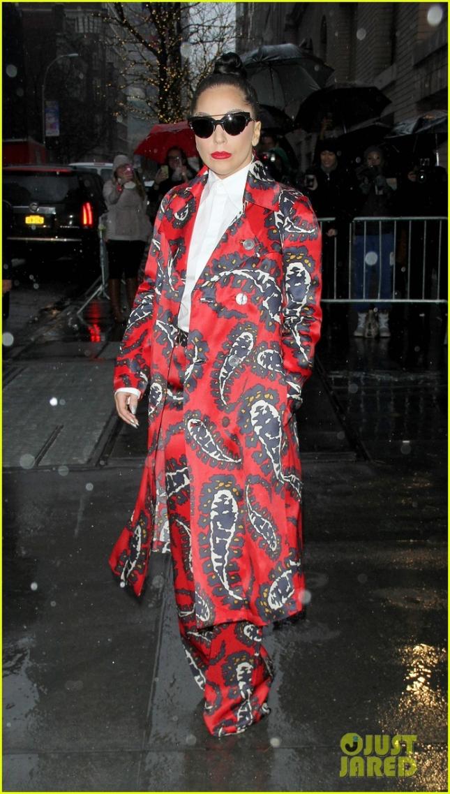 """Леди Гага возвращается с шоу The View. Впереди у неё большой тур в поддержку альбома """"Cheek to Cheek"""" записанного совместно с Тони Беннеттом"""
