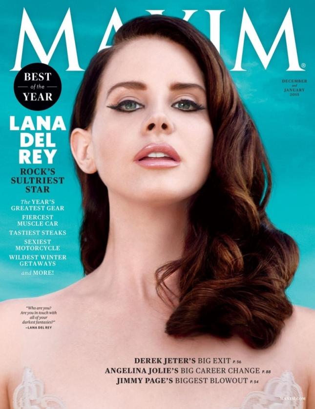 Лана Денль Рей на обложке Maxim