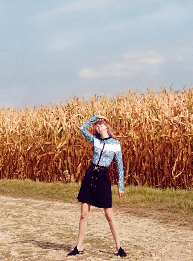 Линдсей Виксон для Vogue Australia, декабрь 2014