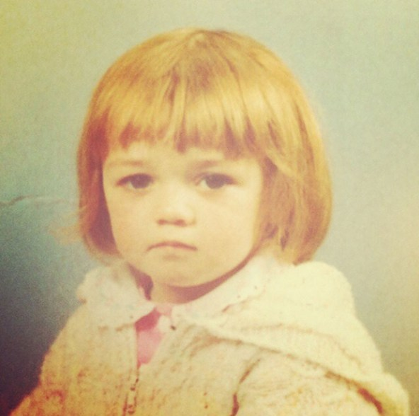 Малышка Арья Старк (она же Мэйси Уильямс)