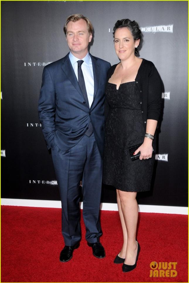 Кристофер Нолан с женой