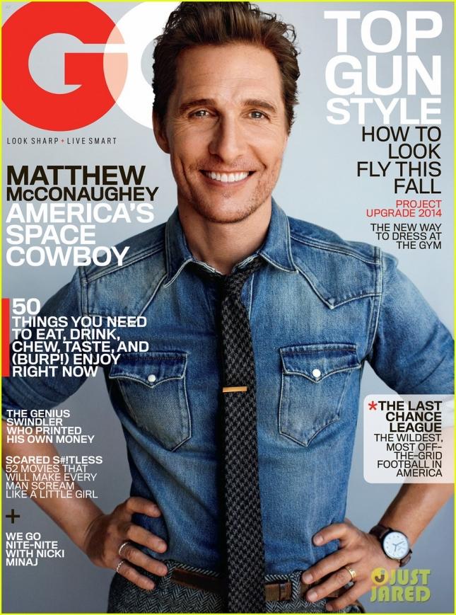 Мэттью МакКонахи на обложке GQ