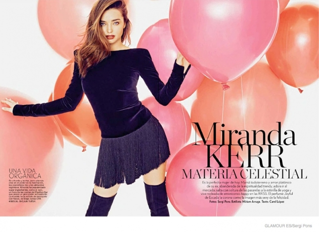 Миранда Керр для Glamour Spain, декабрь 2014