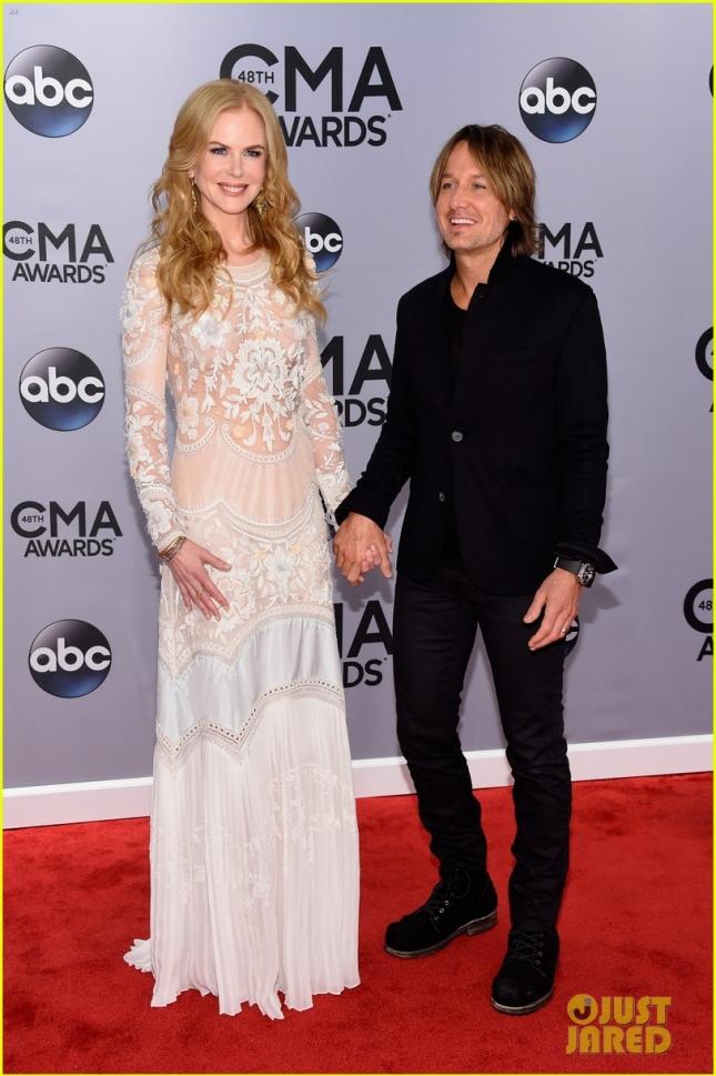 Кит Урбан и Николь Кидман на CMA Awards 2014