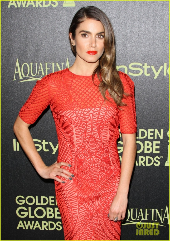 Никки Рид на The Hollywood Foreign Press Association (HFPA) And InStyle Celebrate The 2015 Golden Globe Award Season