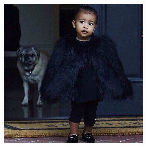 North-West-Wearing-Fur-Jacket-Pictures