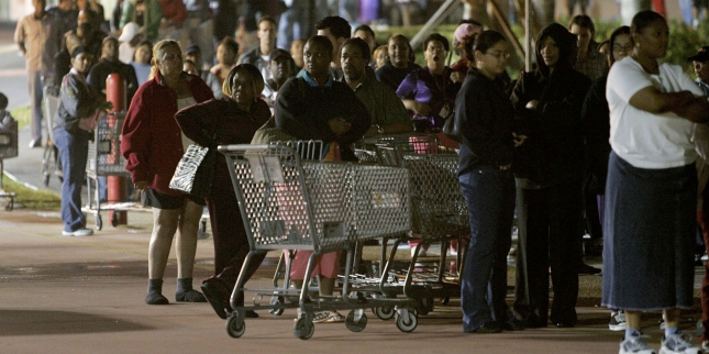 "Holiday Shopping Season Gets Underway On ""Black Friday"""