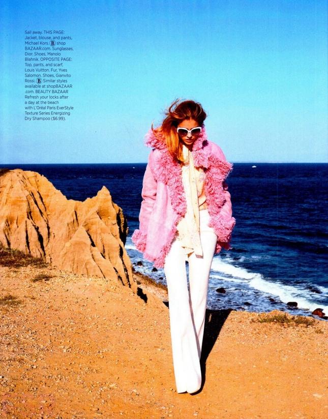 Барбара Палвин в фотосессии для Harpers Bazaar US