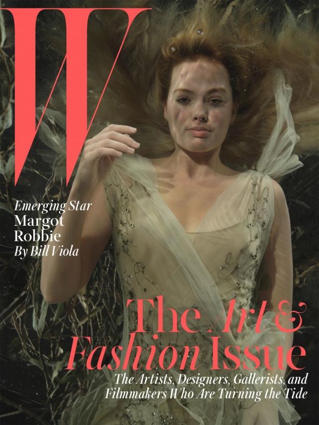Марго Робби на обложке  W magazine