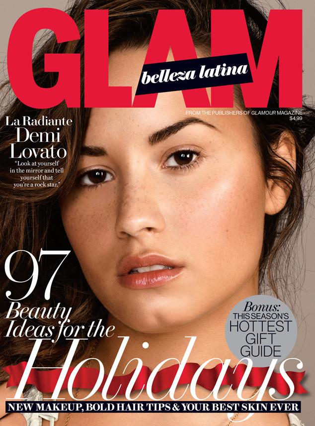 Деми Ловато на обложке Glam Belleza Latina