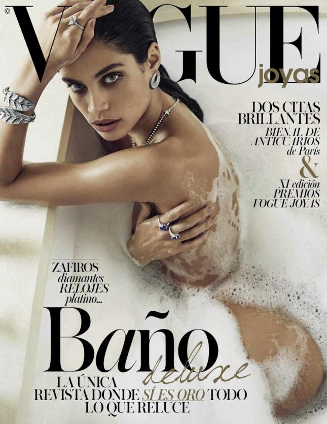 Сара Сампайо на обложке Vogue Испания