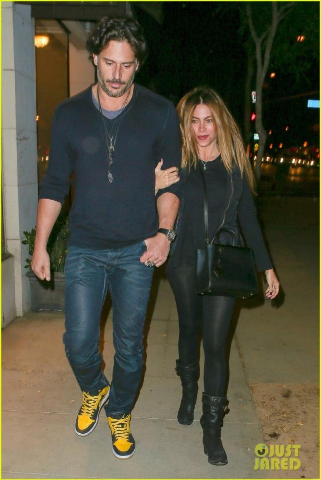 София Вергара и Джо Манганьелло сходили на свидание в Западном Голливуде