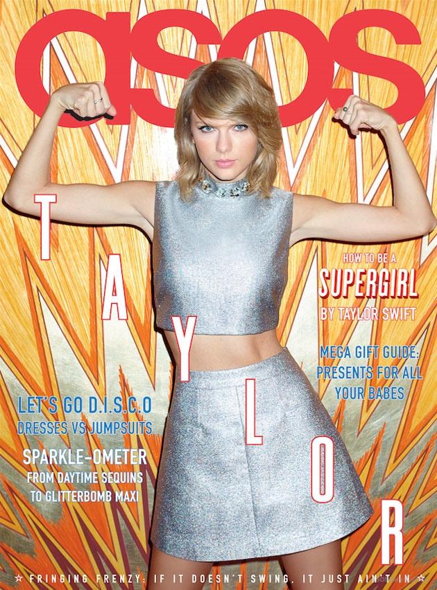 Тейлор Свифт на обложке  Asos Magazine
