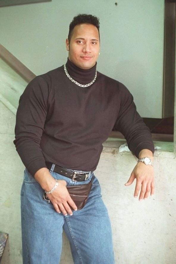 "Привет из 90-х от Дуэйна ""Скалы"" Джонсона"