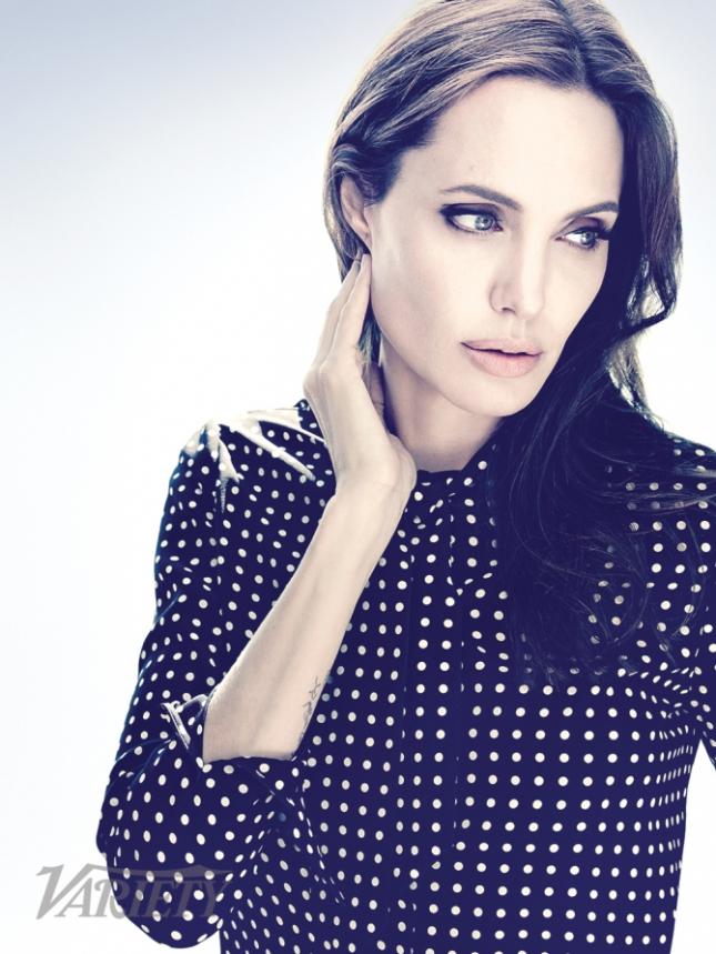 Анджелина Джоли для  Variety