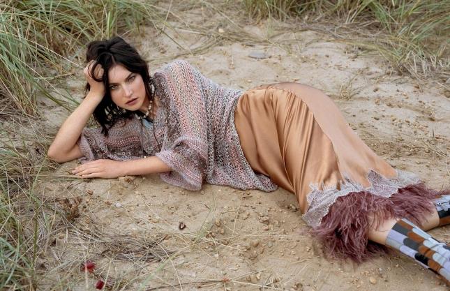 Жаклин Яблонски для Elle Италия