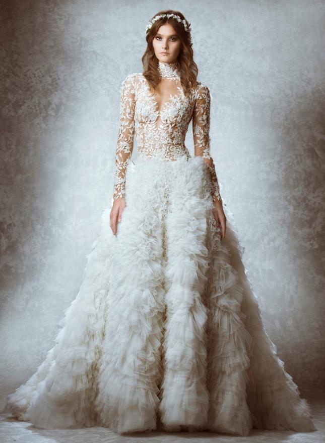 Свадебная коллекция  Zuhair Murad осень 2015
