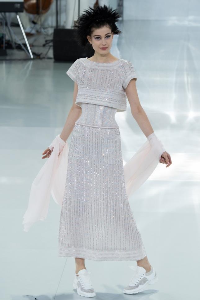 Показ Chanel весна-лето 2014