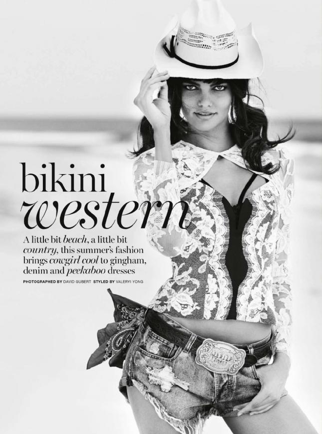 Барбара Фиальо для январского номера Marie Claire Австралия