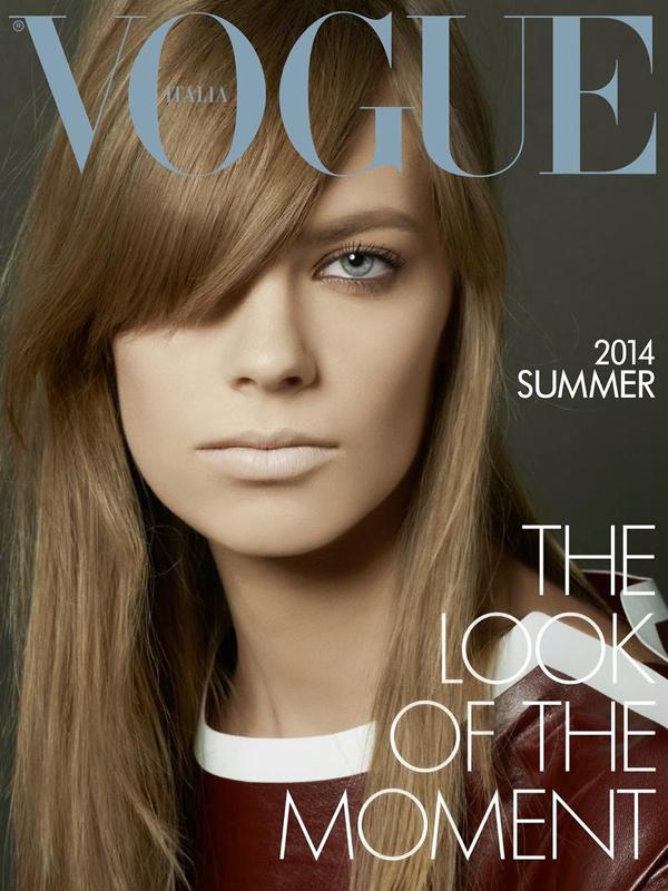 Лекси Болинг на обложке Vogue Италия