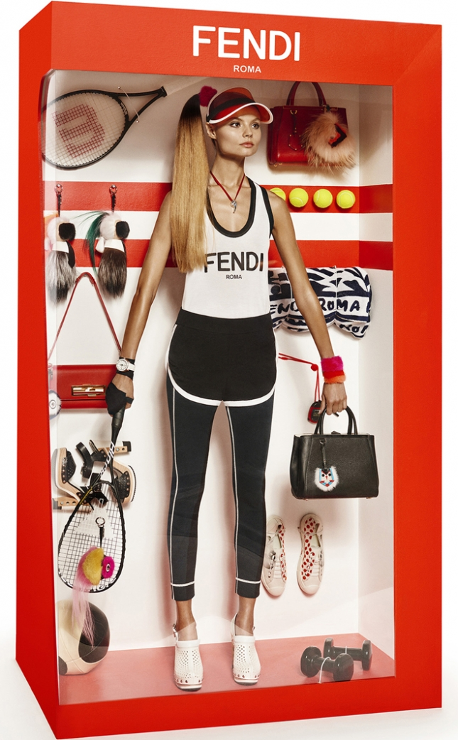 Магдалена Фраковяк в Vogue Париж