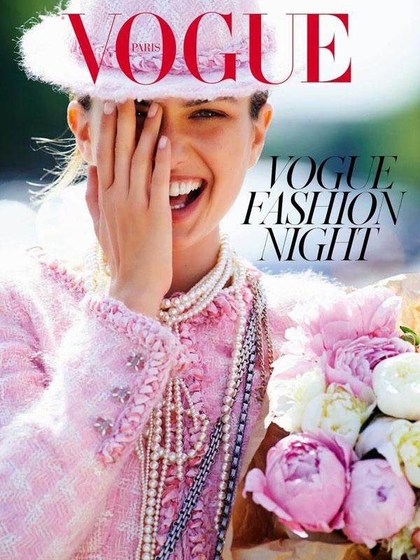 Андреа Дьякони на обложке Vogue Париж