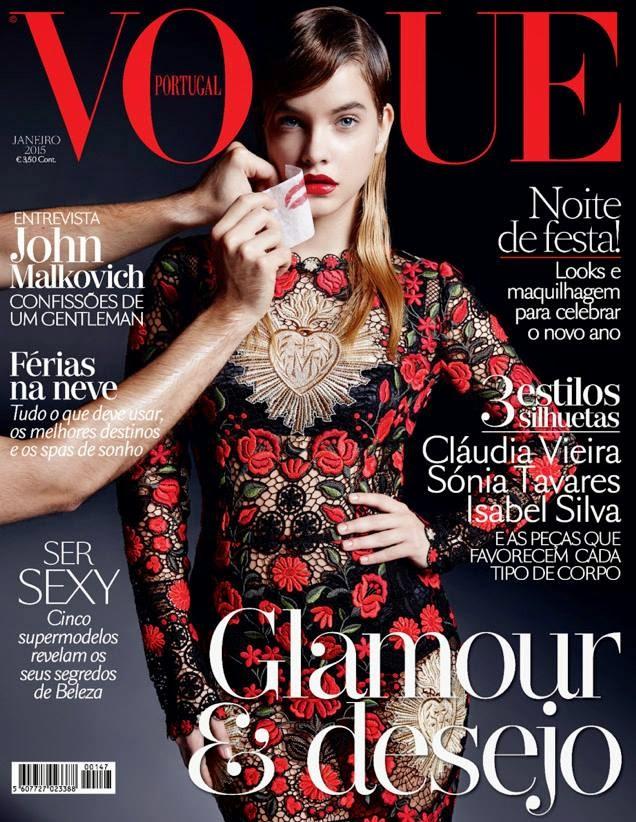Барбара Палвин на обложке Vogue Португалия, январь 2015