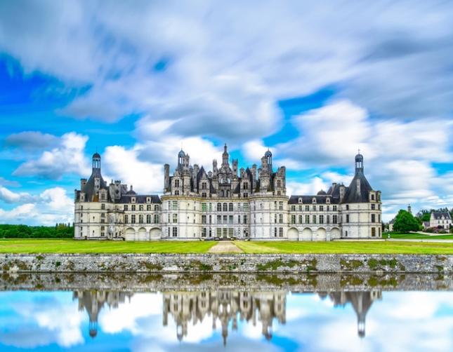 Замок Шамбор, долина Луары, Франция