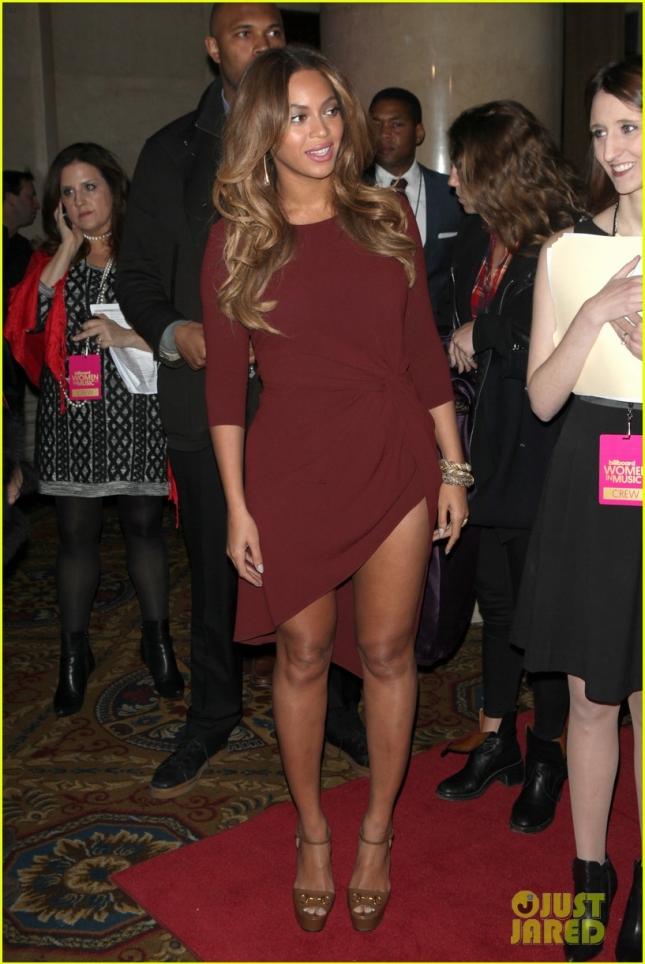 Бейонсе прибыла на вечеринку Billboard Women In Music