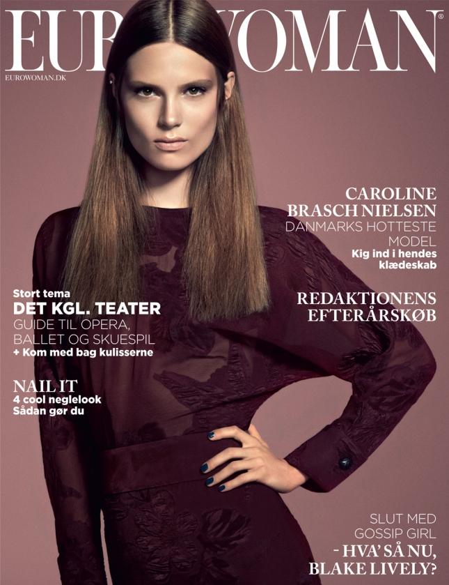 Кэролайн Браш Нилсен на обложке Eurowoman