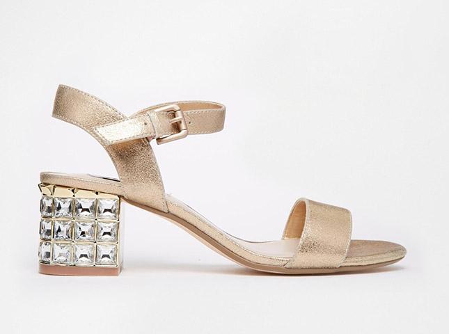 dune-gold-suede-block-heels