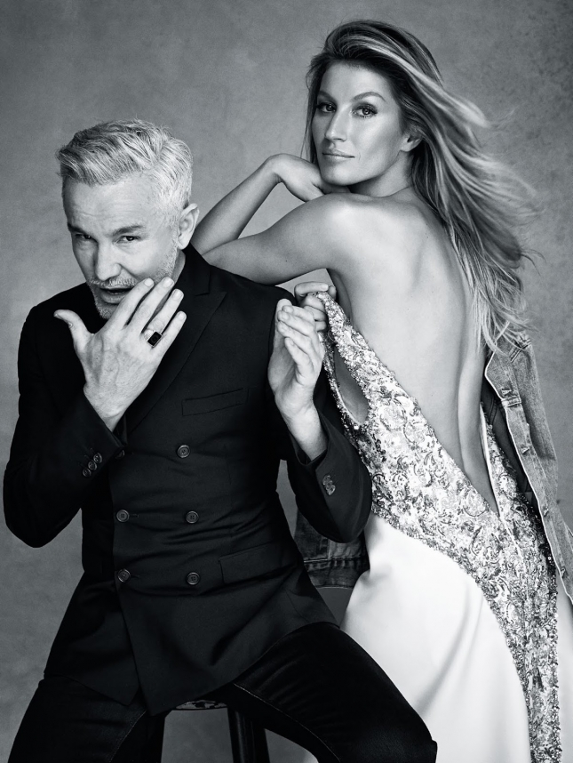 Жизель Бундхен в фотосессии для Vogue Австралия, январь 2015