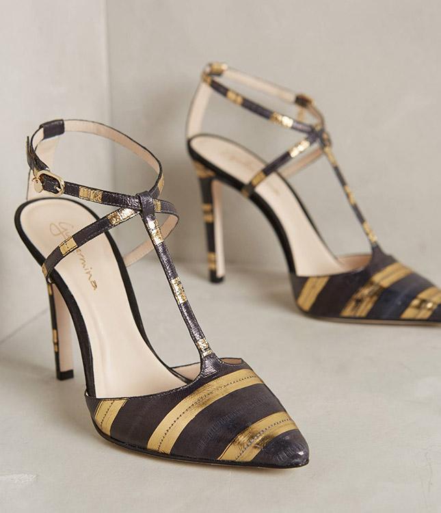 Guilhermina-striped-t-strap-heels