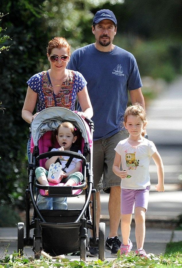 Элисон Ханниган с семьей