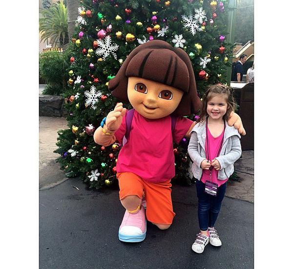 Harper-Smith-palled-around-Dora-Explorer-Universal
