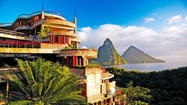 Jade Mountain, остров Св. Лучии