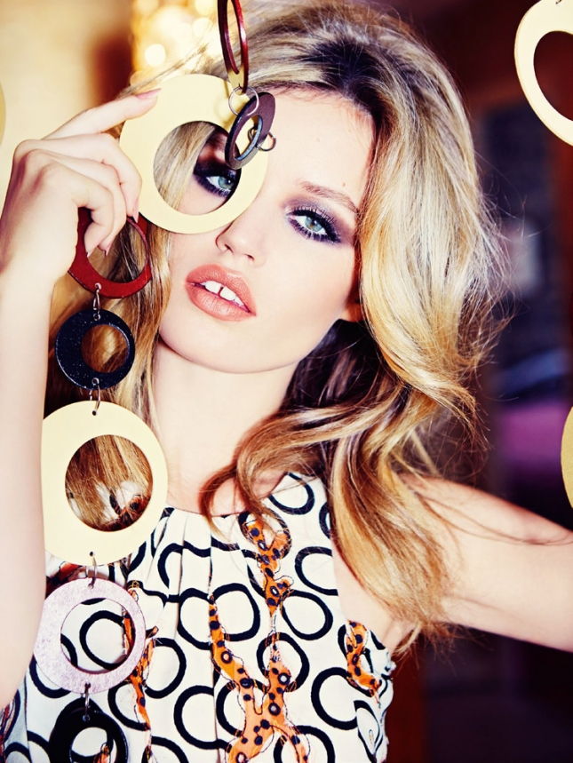 Джорджия Мэй Джаггер для Vogue Россия, январь 2015