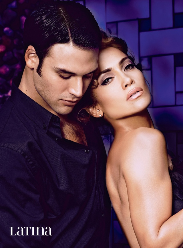 Дженнифер Лопес и Райан Гузман для Latina, февраль 2015