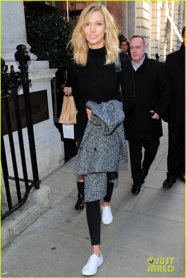 И только Карли Клосс не в Нью-Йорке, а в Лондоне
