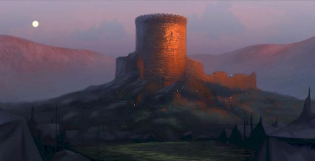 Замок Данброш из мультфильма «Храбрая сердцем»